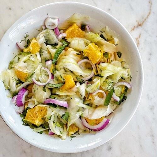sicilian style fennel salad