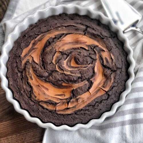 chocolate peanut butter bake