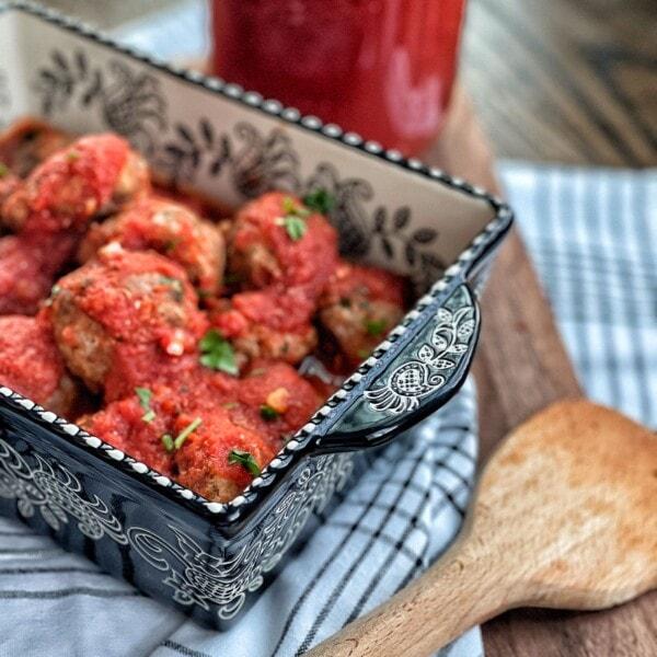beef meatballs