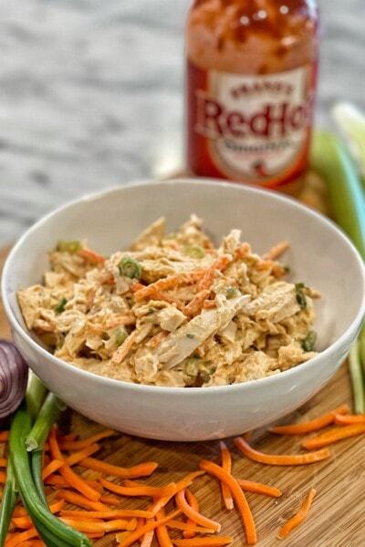 buffalo ranch chicken salad