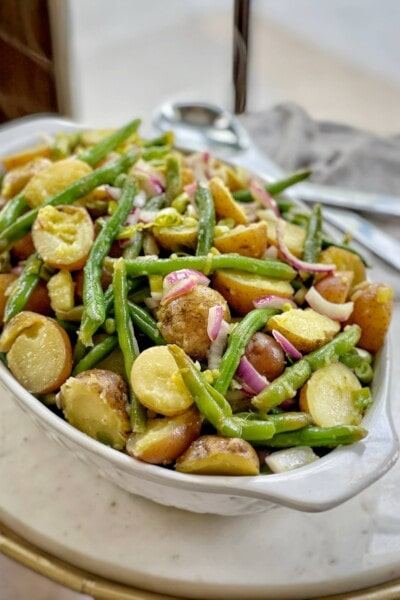 string bean and potato salad