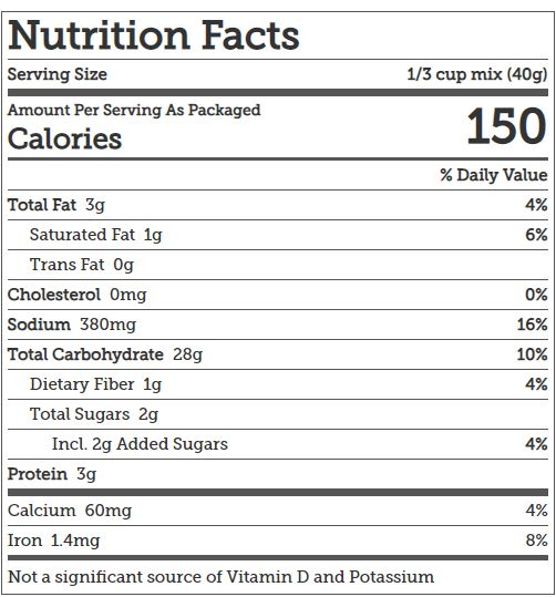 kodiak cakes nutrition