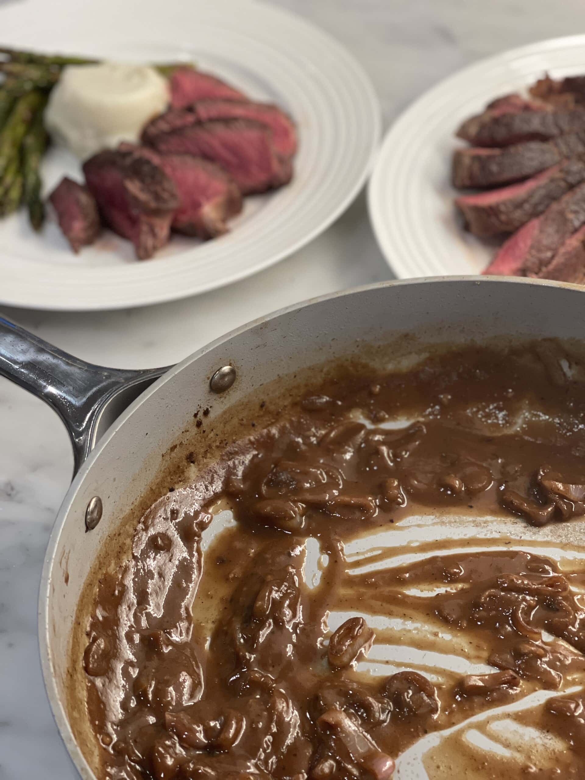 Bring the sauce to a boil and cook it for about five minutes or until it appears thick and velvety in texture.