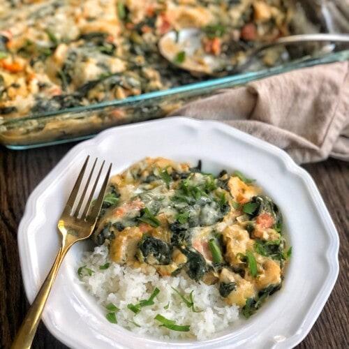 spinach and artichoke chicken