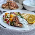 greek turkey burgers