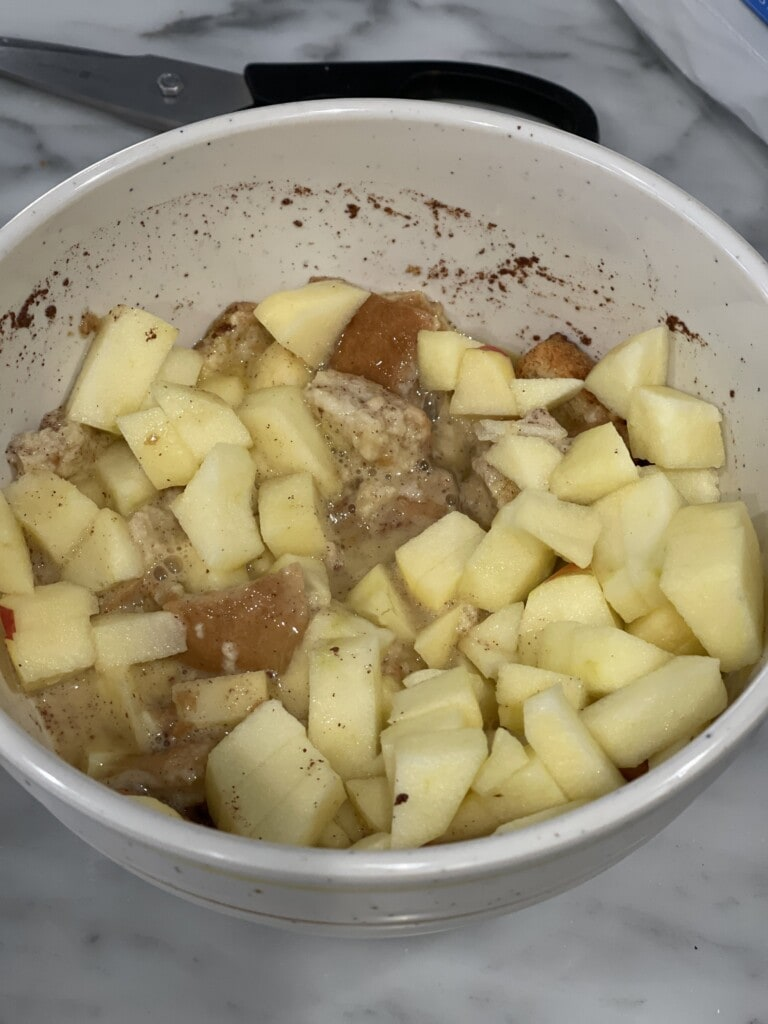 baked apple french toast