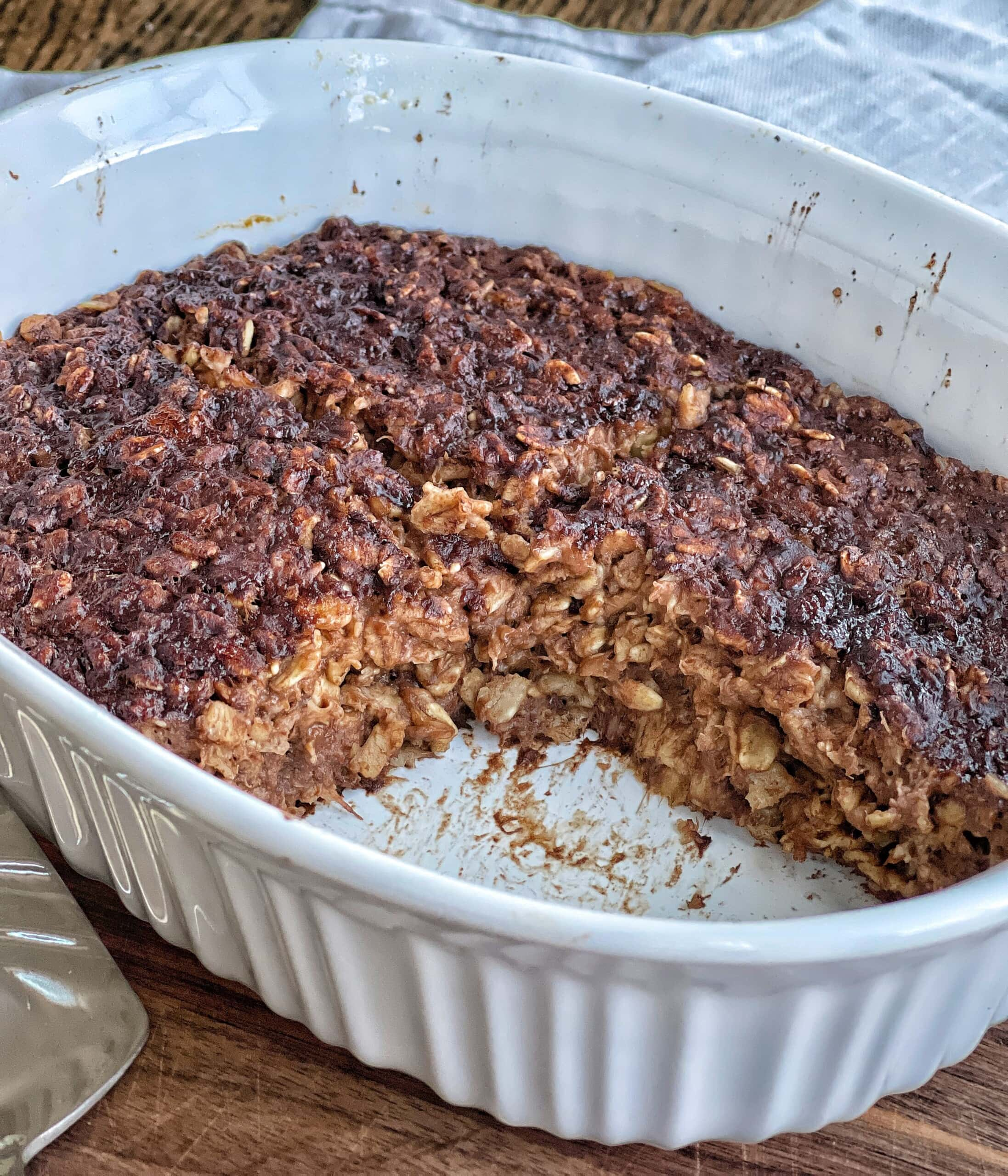 chocolate baked oatmeal