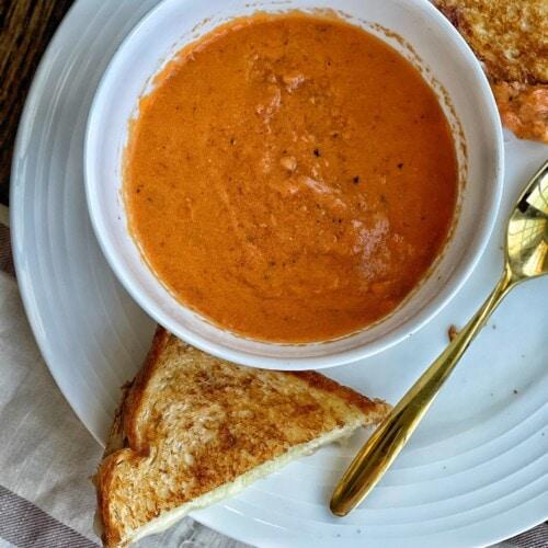 healthy tomato bisque