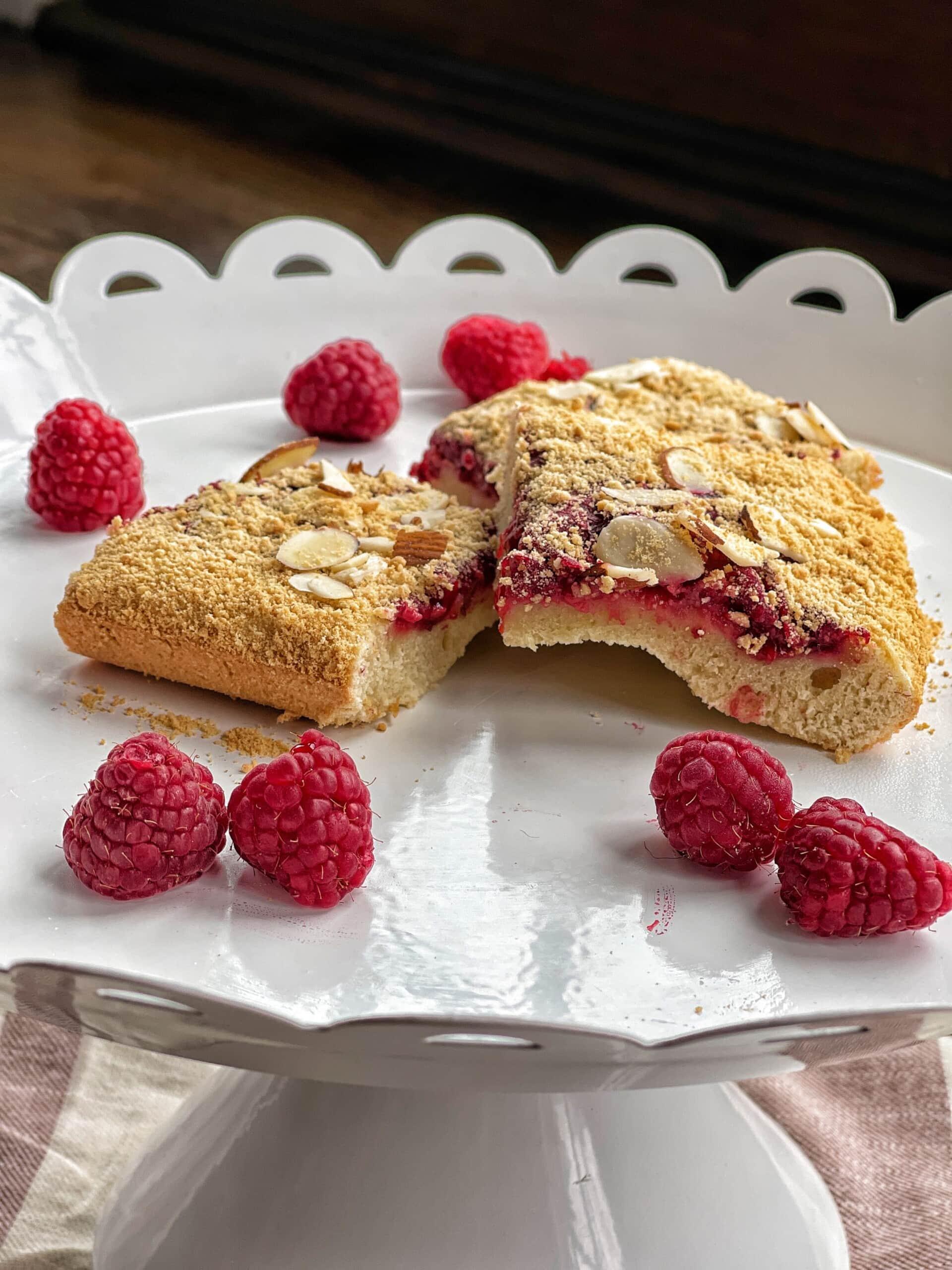 raspberry squares