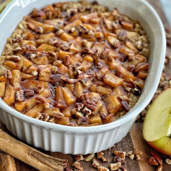apple pecan baked oatmeal
