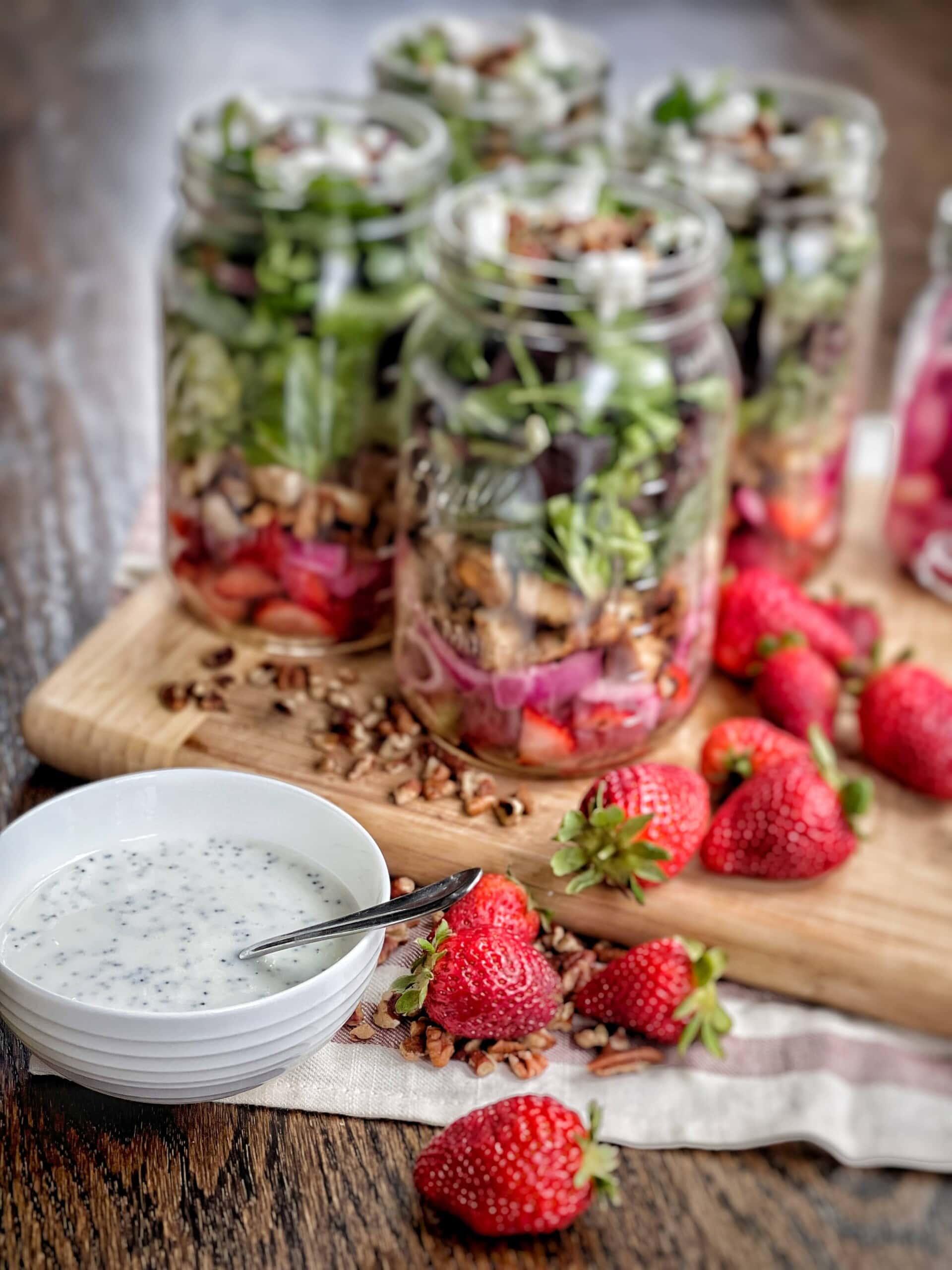 strawberry poppyseed salad
