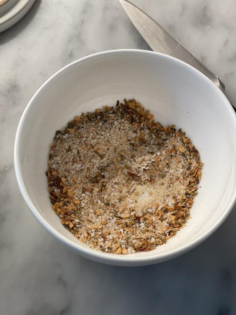 caprese mason jar salads