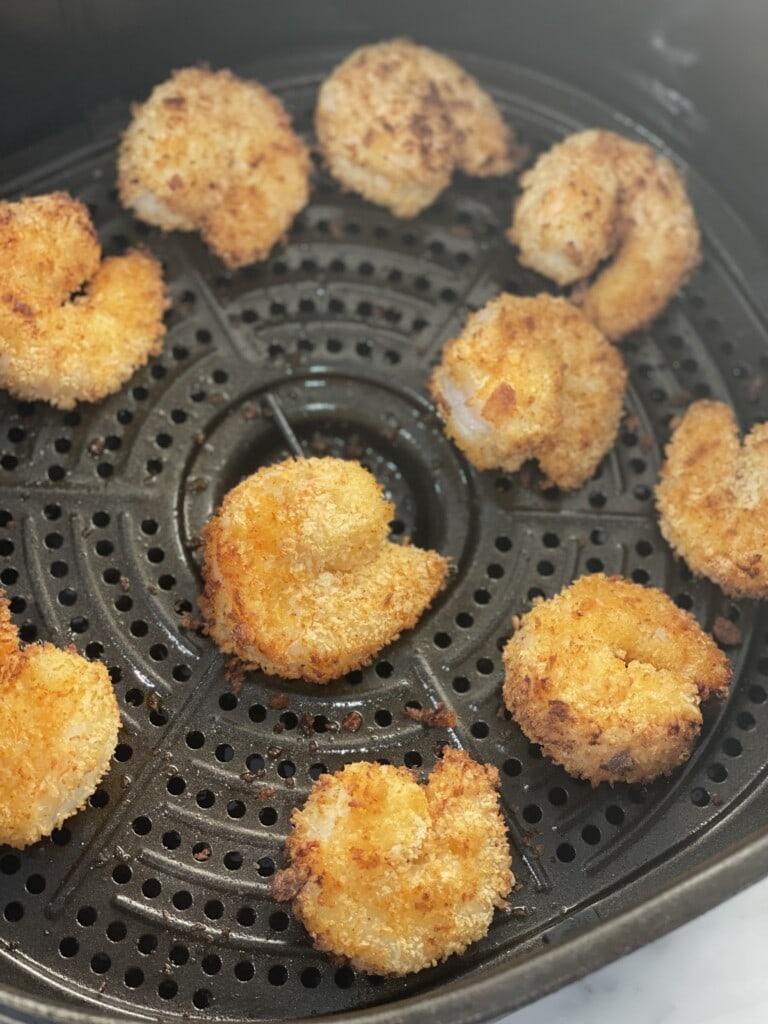 air fried crispy shrimp