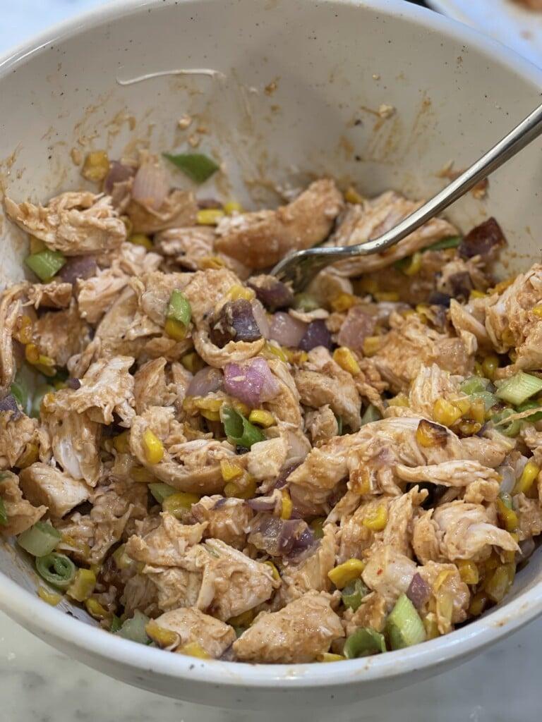 barbeque chicken salad
