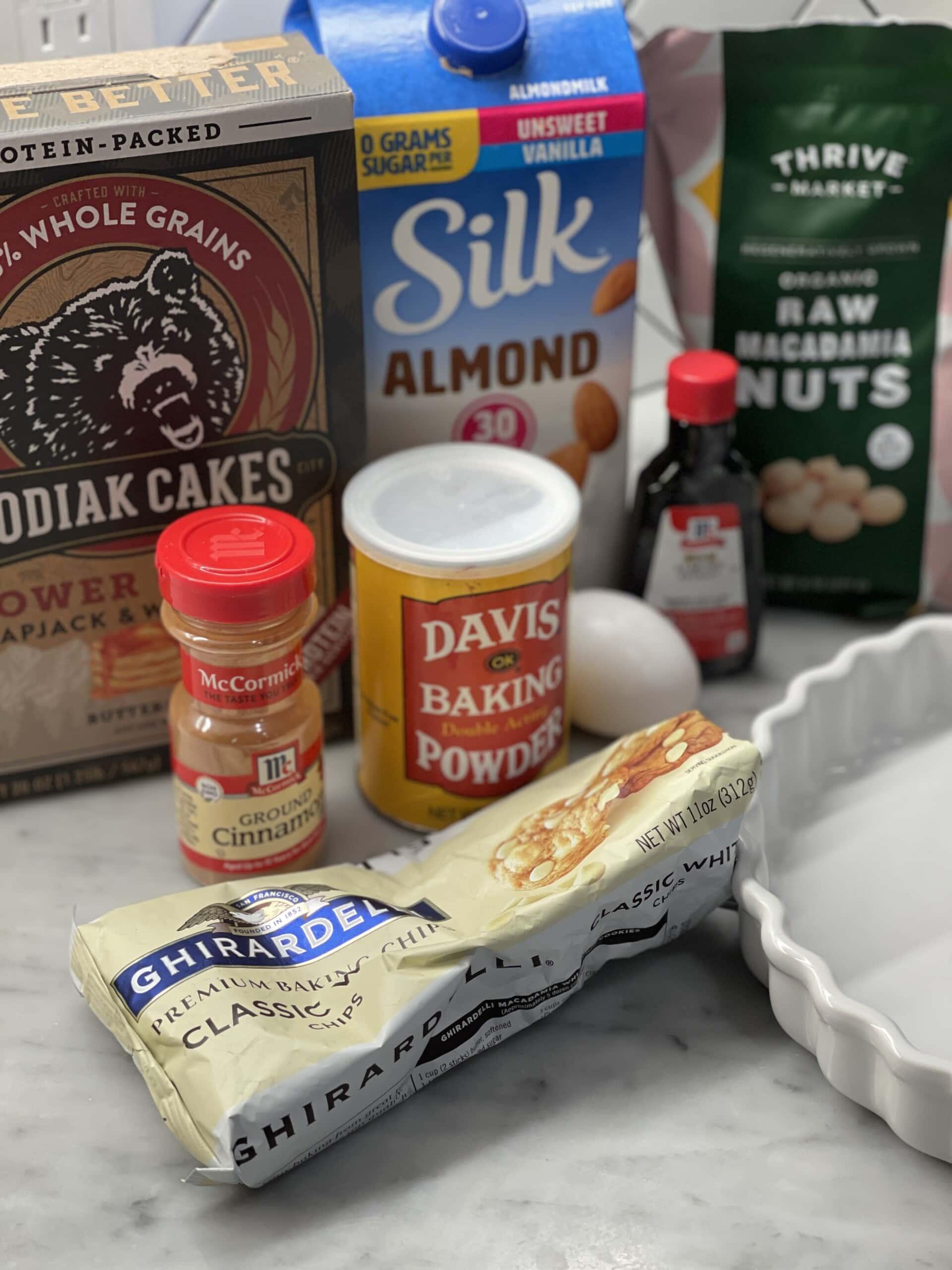macadamia nut pancake bake