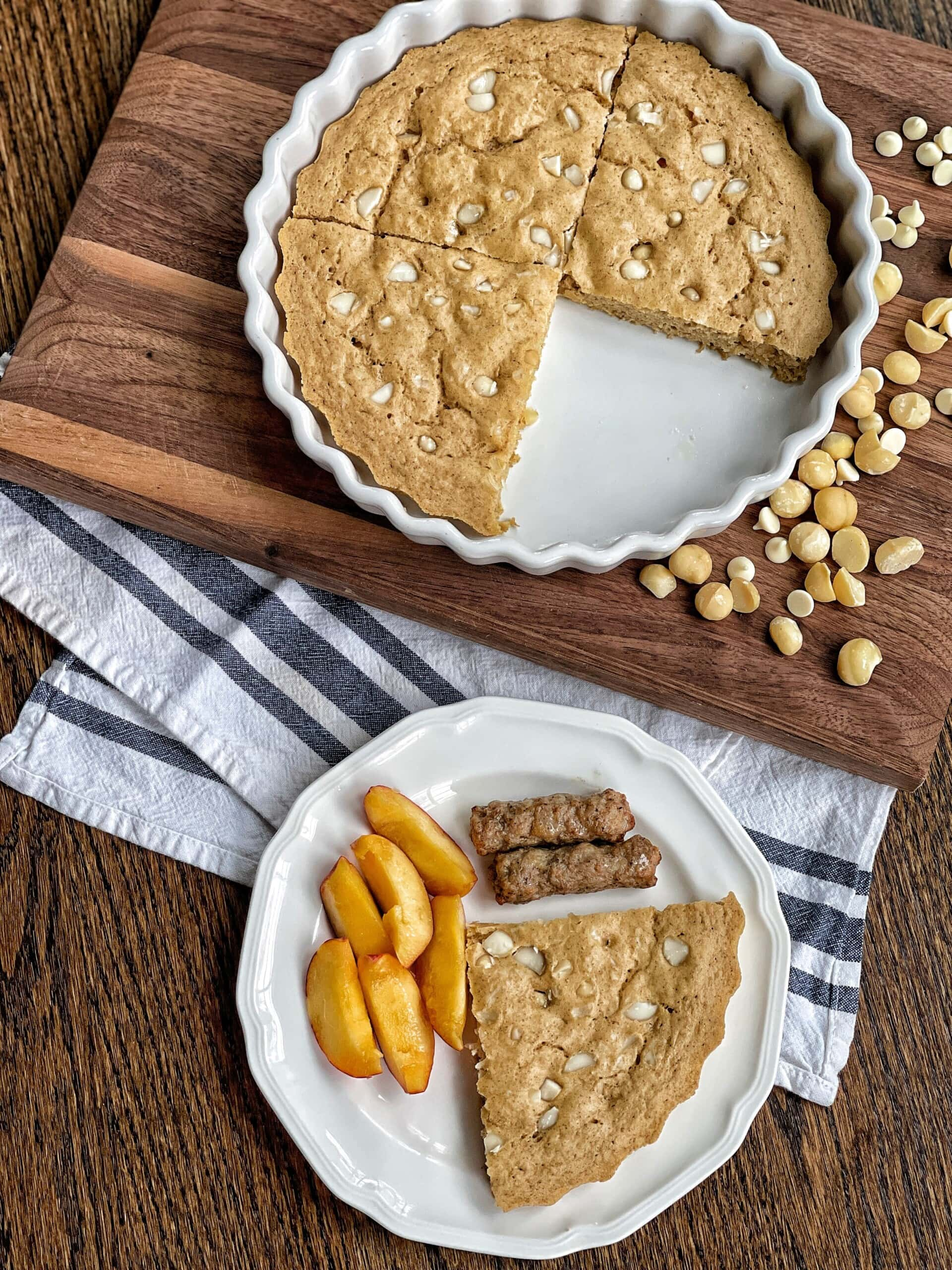 macadamia pancake bake