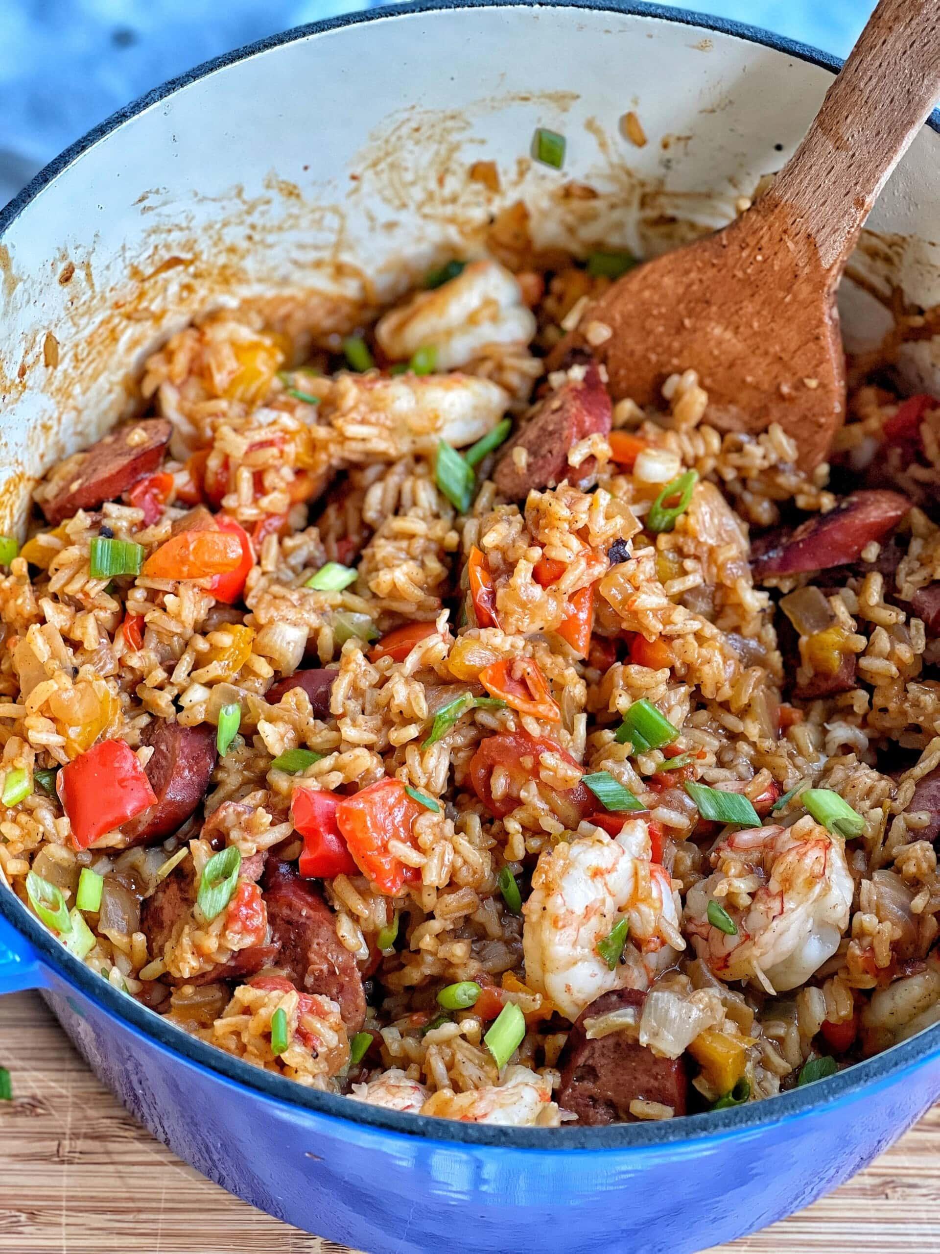 one pot cajun rice