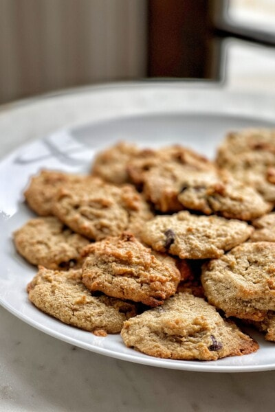 gluten-free egg free chocolate chip cookies