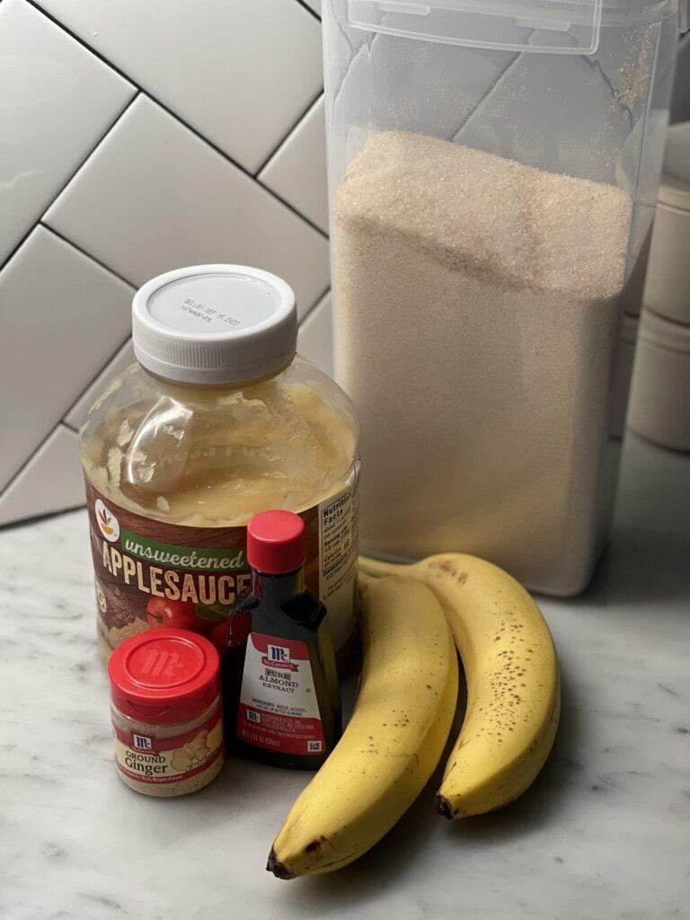 tropical fruit baked oatmeal