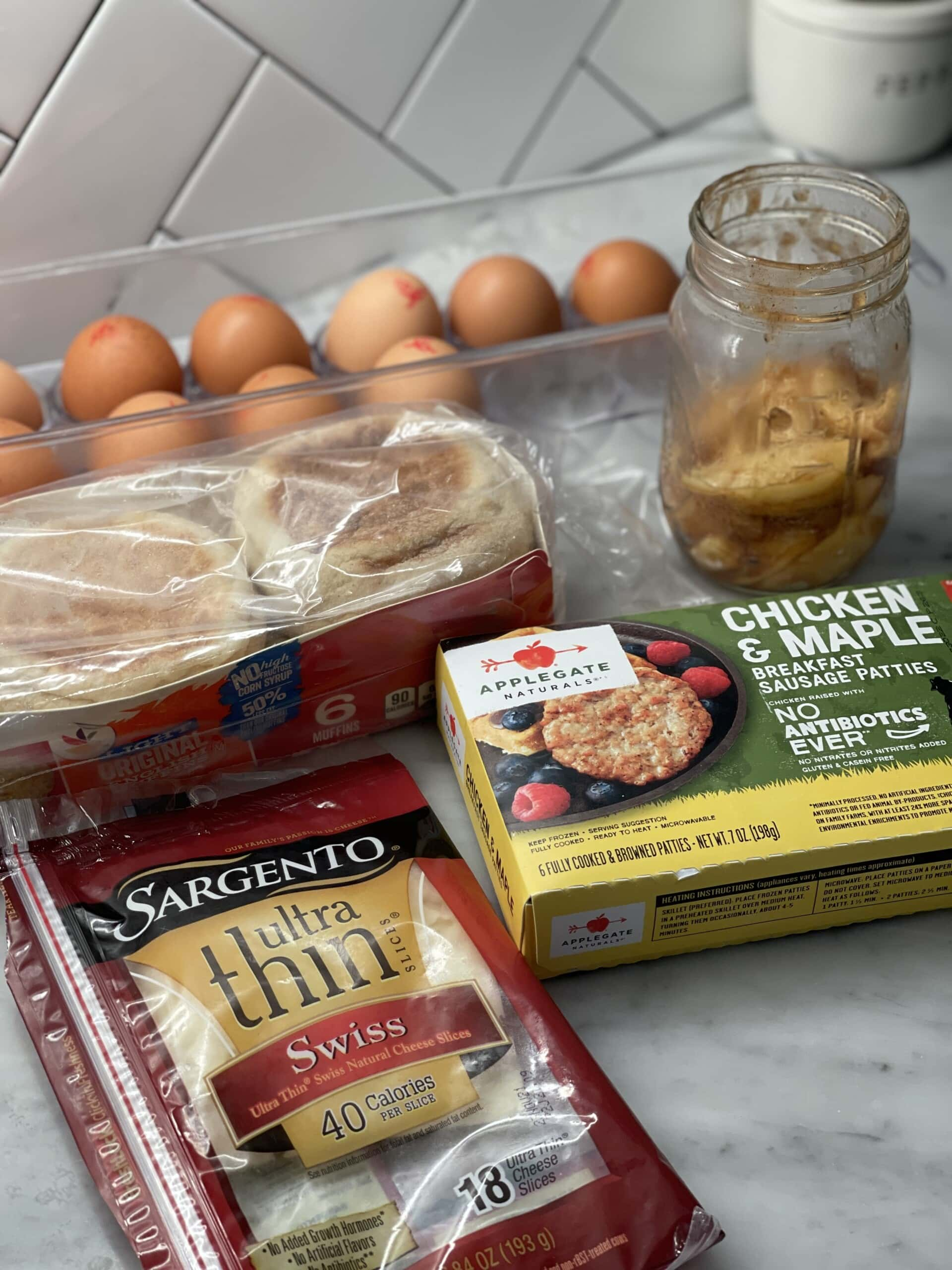 fall breakfast sandwich